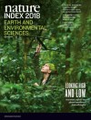 Nature Index 2018 Earth and environmental sciences
