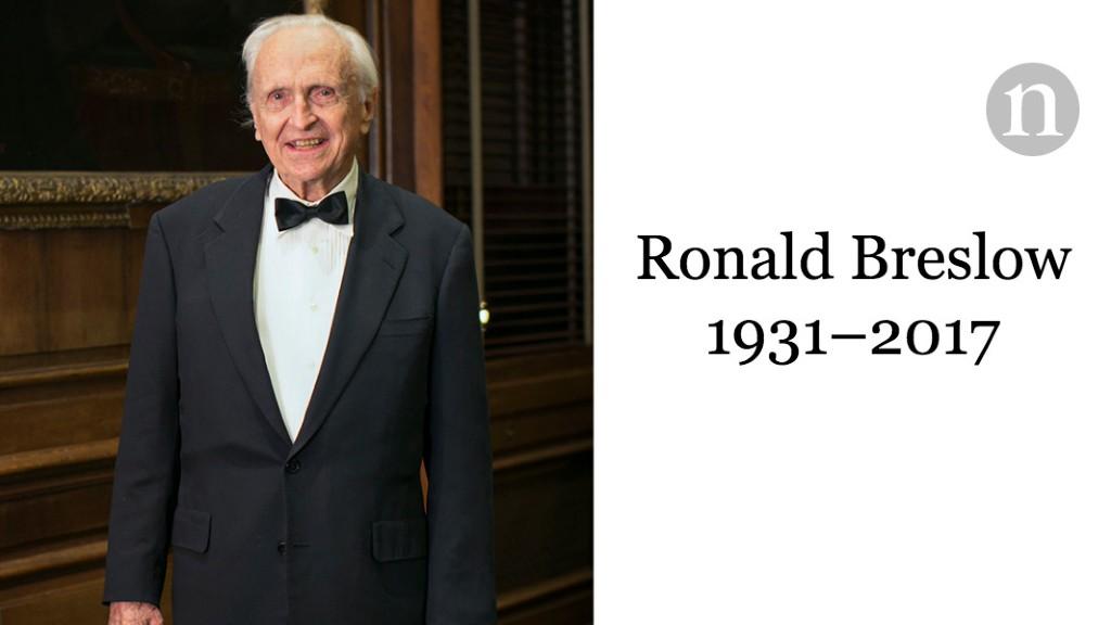 Ronald Breslow (1931–2017)