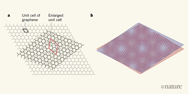 Novel electronic states seen in graphene
