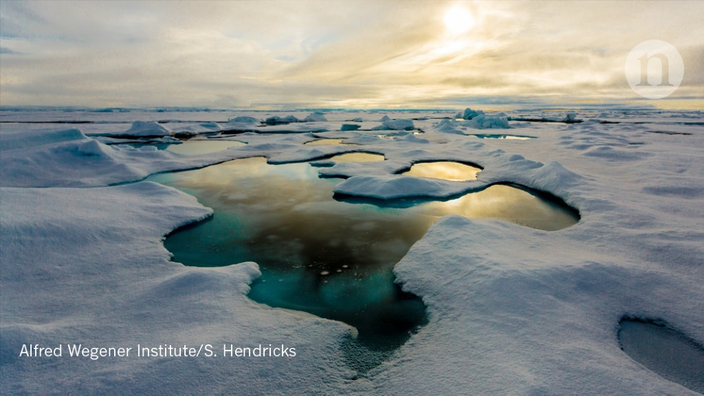 Arctic ice carries heavy freight of plastic - Nature.com