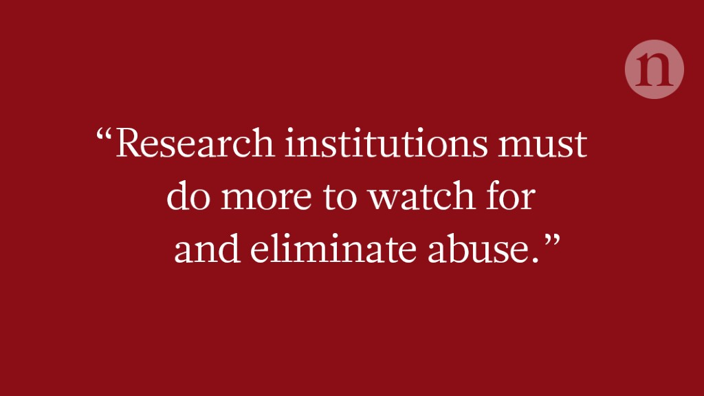 Research is set up for bullies to thrive
