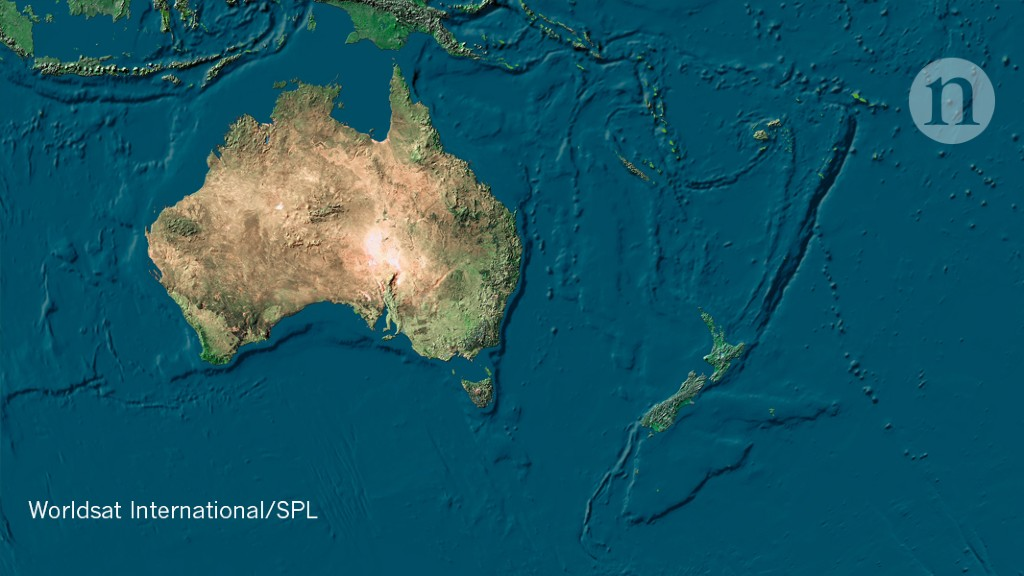 How the submerged continent of Zealandia took shape
