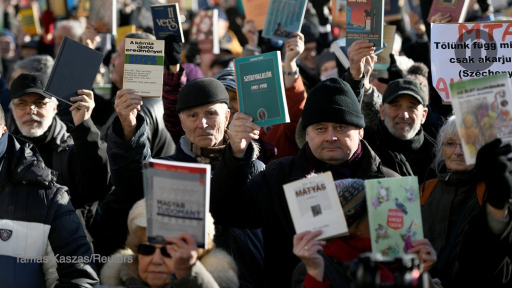 Hungary's scientists outraged by government budget grab