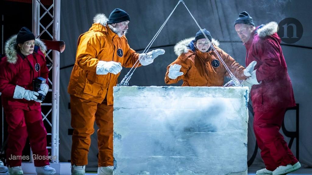 Frozen arias for the Anthropocene epoch