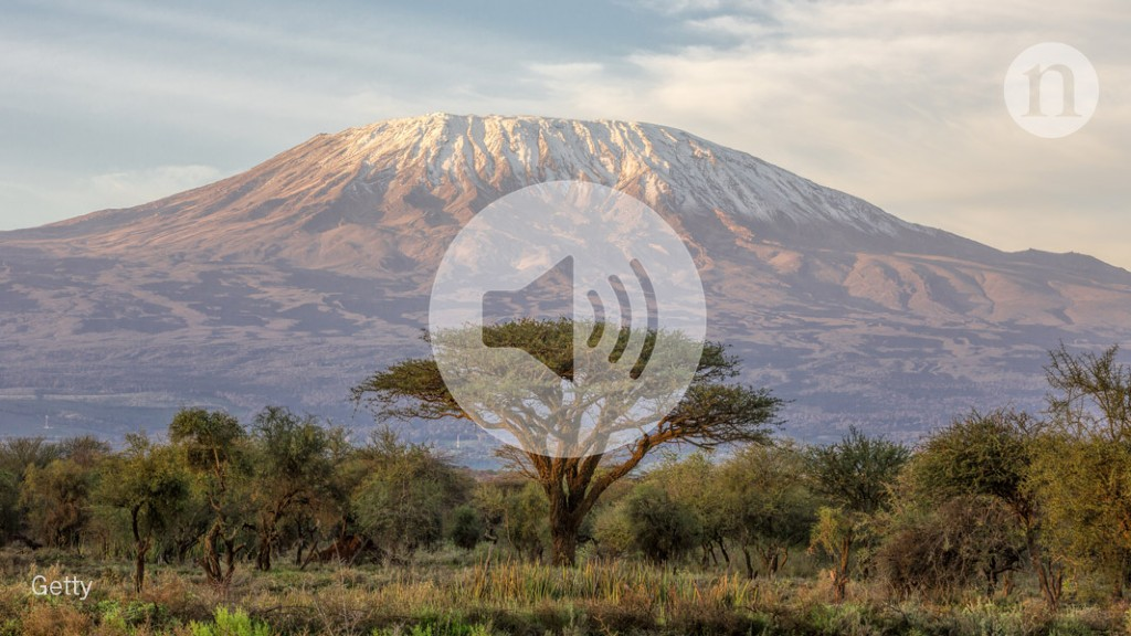 Podcast: Human impacts on Mount Kilimanjaro, sex differences in pain, and a crystal-based cooling method