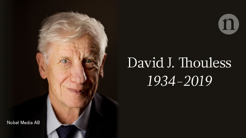 David J. Thouless