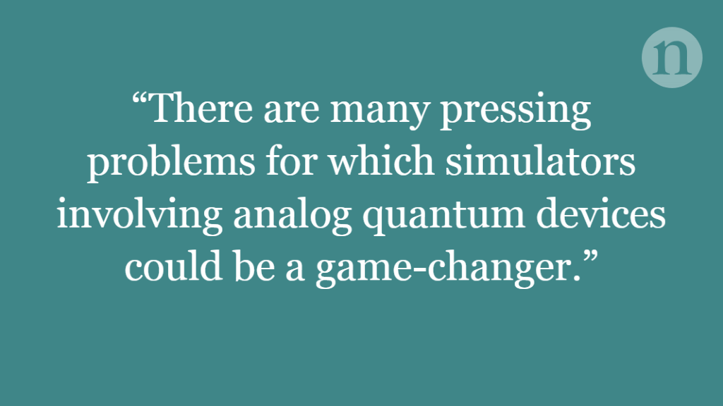 Scaling up quantum simulations