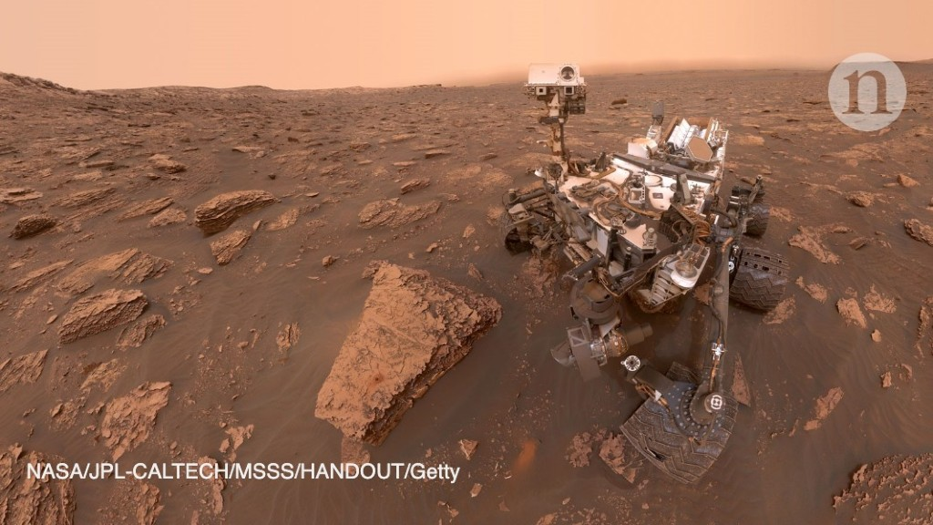 Mars rover detects 'excitingly huge' methane spike