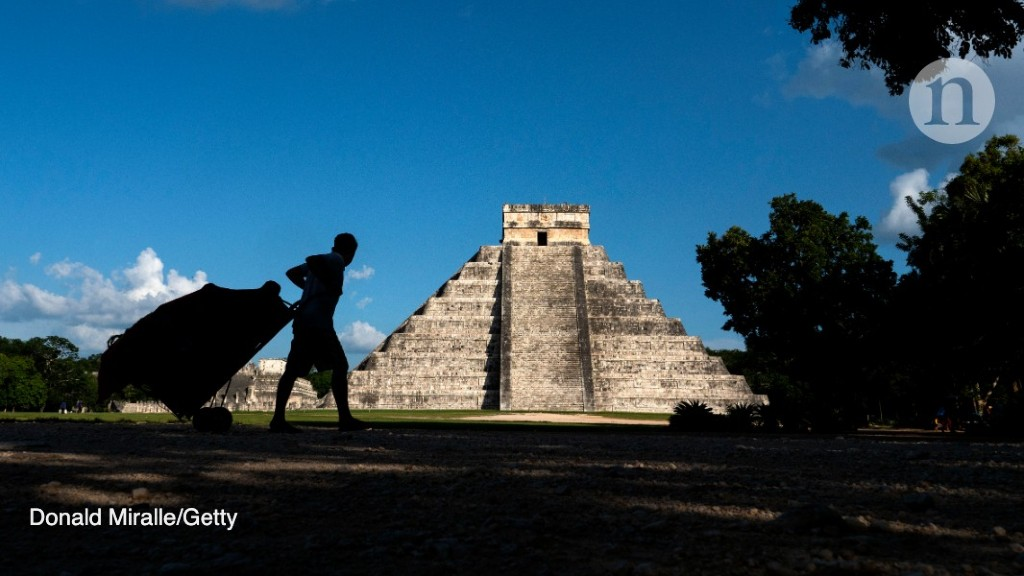 Death as a human sacrifice awaited some travellers to a Mayan city