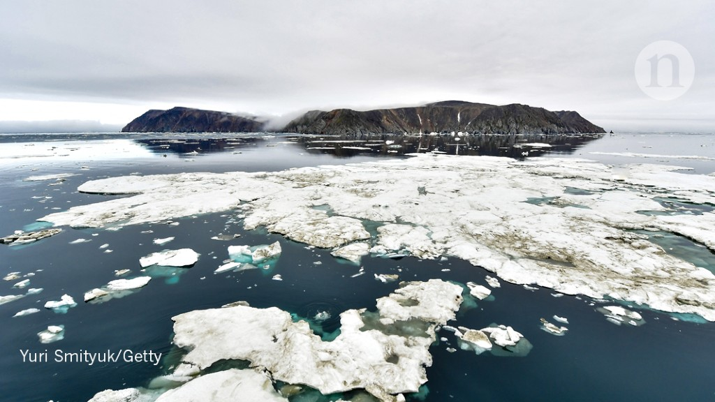 Arctic sea ice is at a near-record low — but that's just one of the north's problems