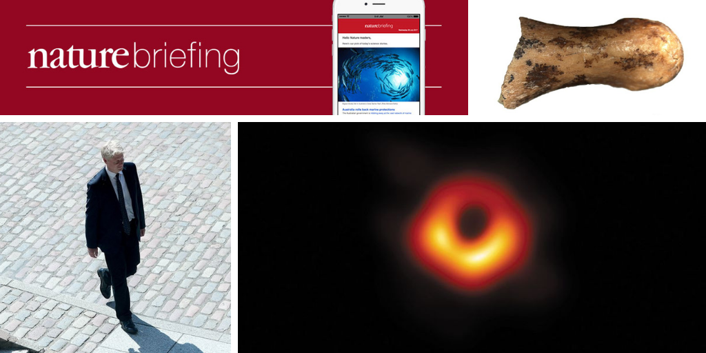 Daily briefing: First-ever image of a black hole wins Breakthrough Prize