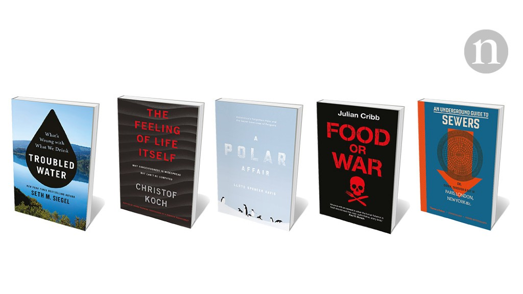Fighting for food, penguin sex, and sewers on display: Books in brief