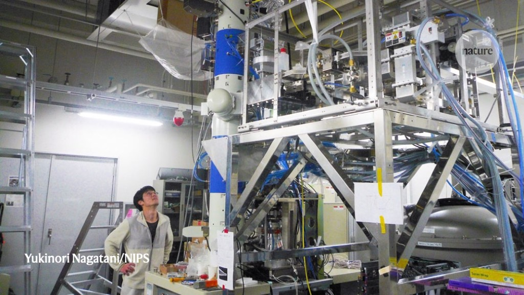 How to improve a huge super-resolution microscope: shrink it