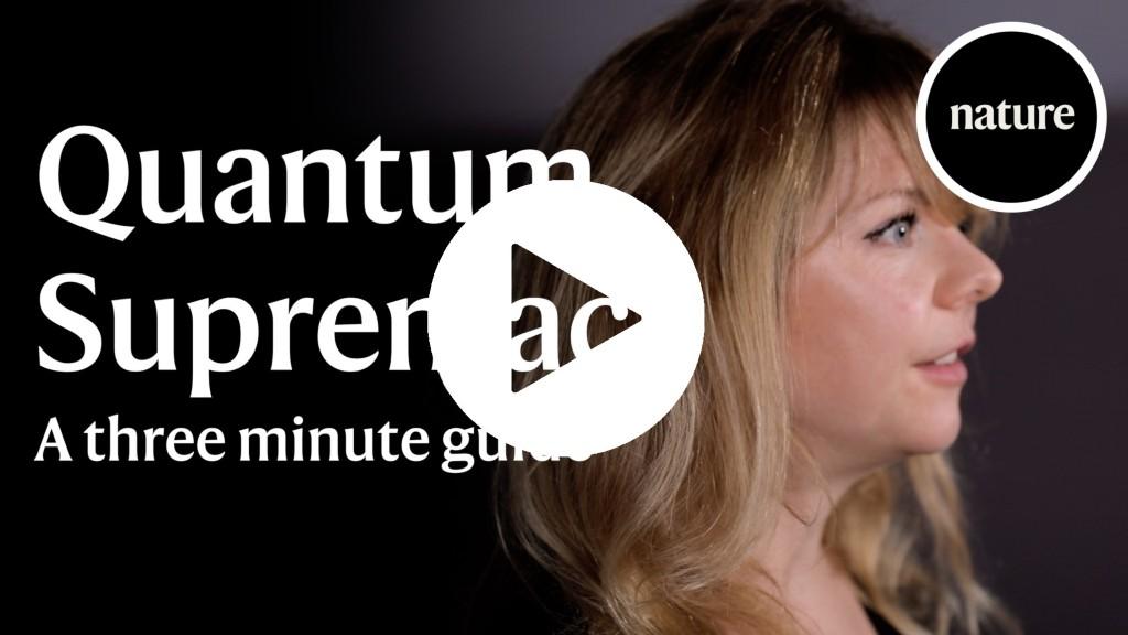 Quantum supremacy: A three minute guide