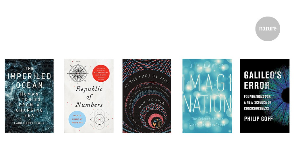 Shared consciousness, artificial imagination, and the Universe's first seconds: Books in brief