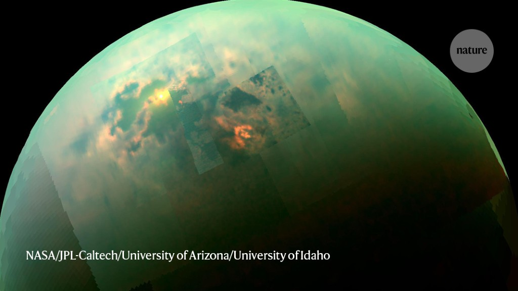 A whole new world: astronomers draw first global map of Titan