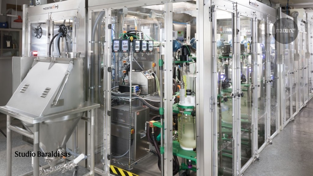 Mini-factory churns out drug cheaply and at a furious pace