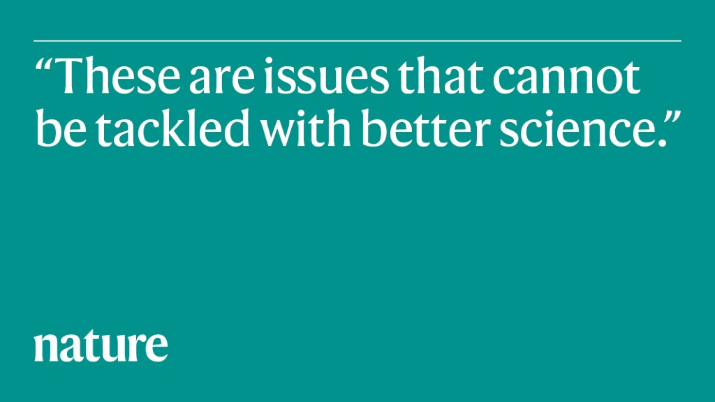 Global problems need social science