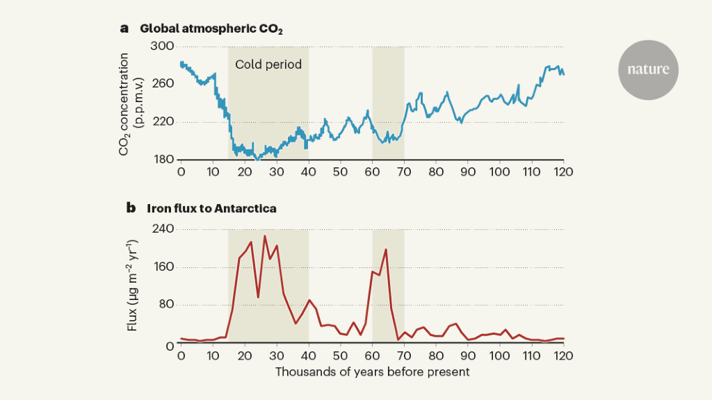 30 years of the iron hypothesis of ice ages