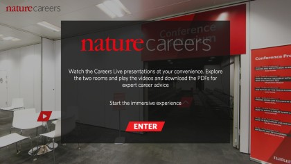 Watch the Careers Live presentations at your convenience