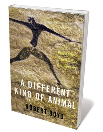 Book jacket for 'A Different Kind of Animal'