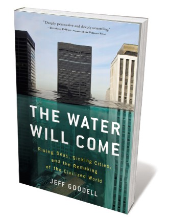 Book jacket for 'The Water Will Come'