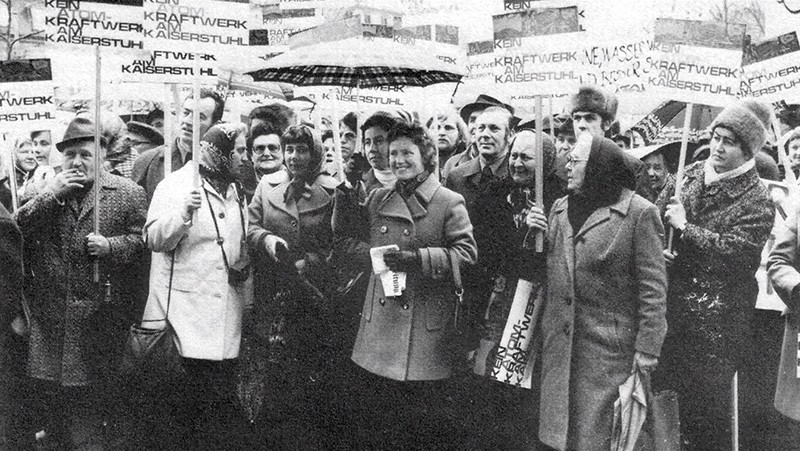 A German protest in around 1975