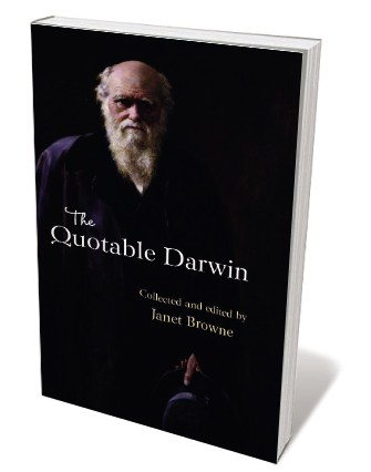 Book jacket 'The Quotable Darwin'