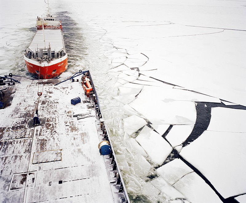 Icebreaker ship in Finland
