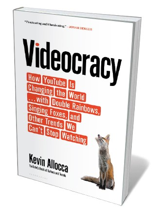 Book jacket 'Videocracy'