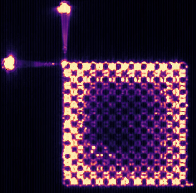 Topological insulator laser photograph