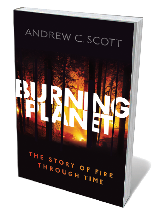 Book jacket for Burning Planet