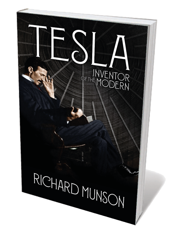 Book jacket 'Tesla'