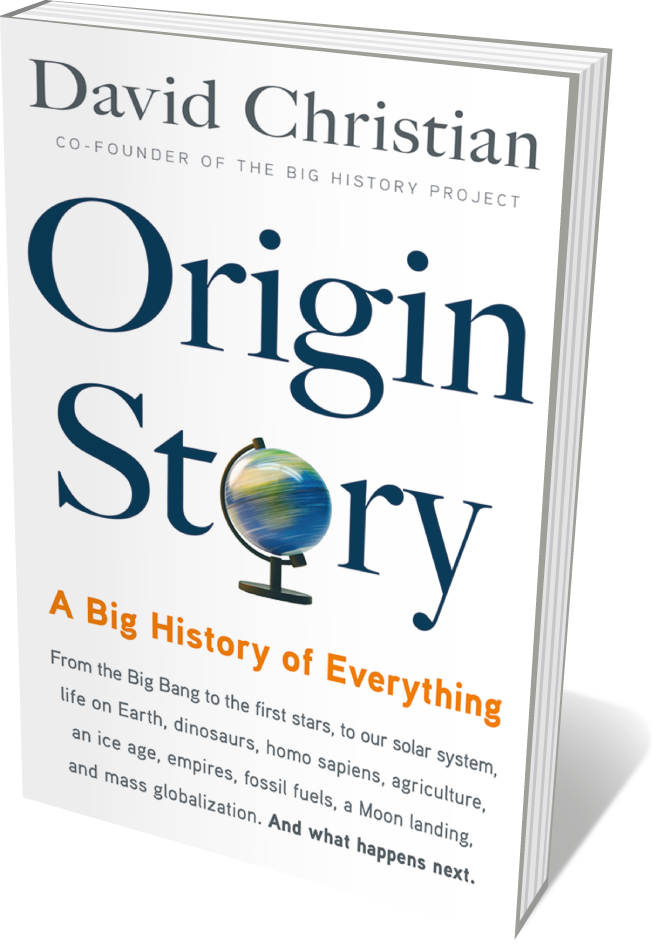 Book jacket 'Origin Story'
