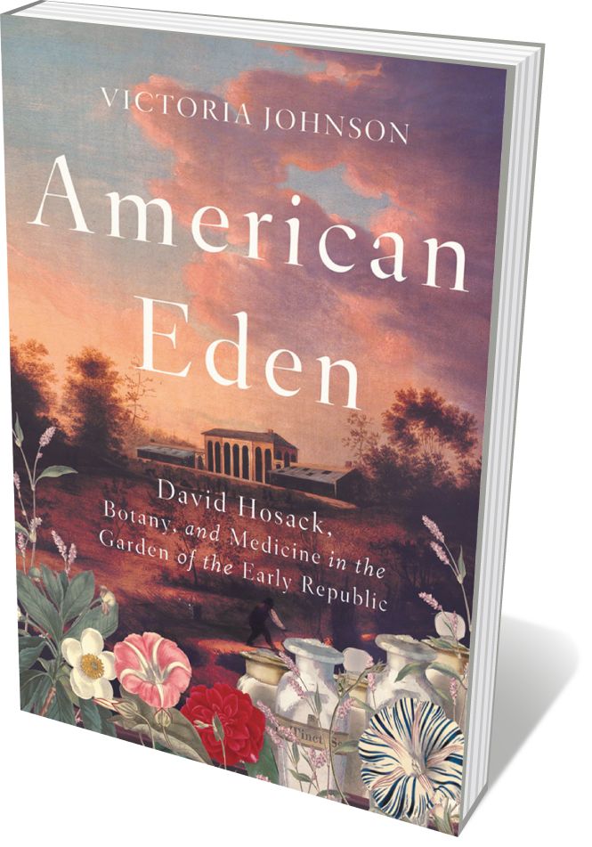 Book jacket 'American Eden'