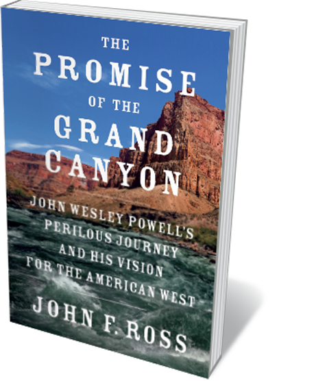 Book jacket 'The Promise of the Grand Canyon'