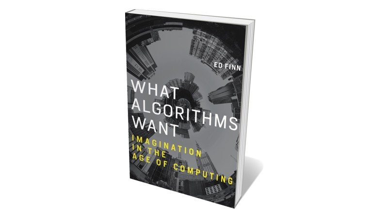 Books jacket 'What Algorithms Want'