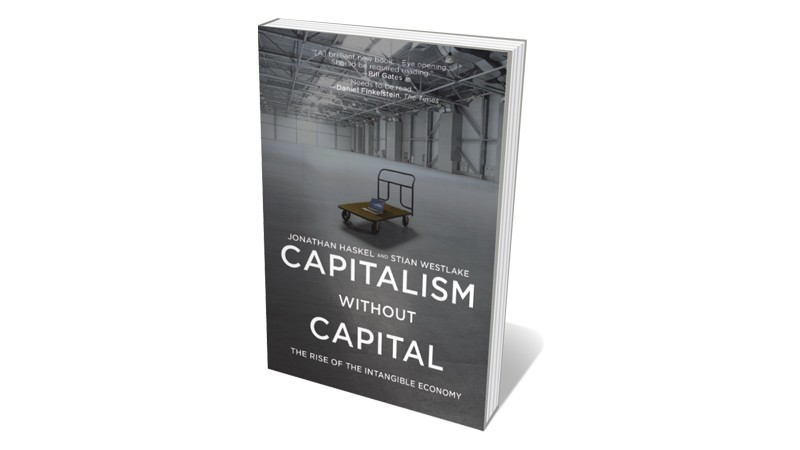 Books jacket 'Capitalism without Capital'