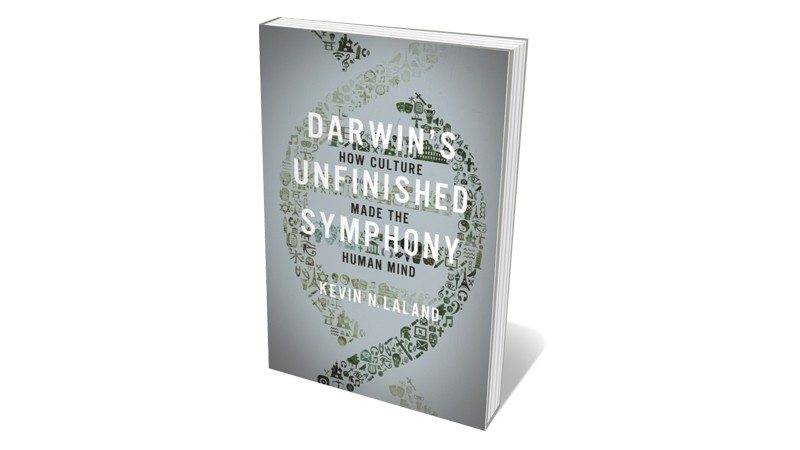 Books jacket 'Darwin's Unfinished Symphony'