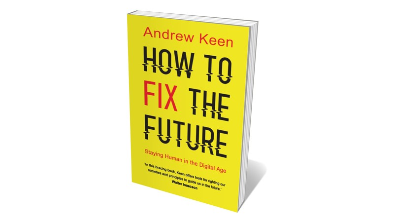 Books jacket 'How to Fix the Future'