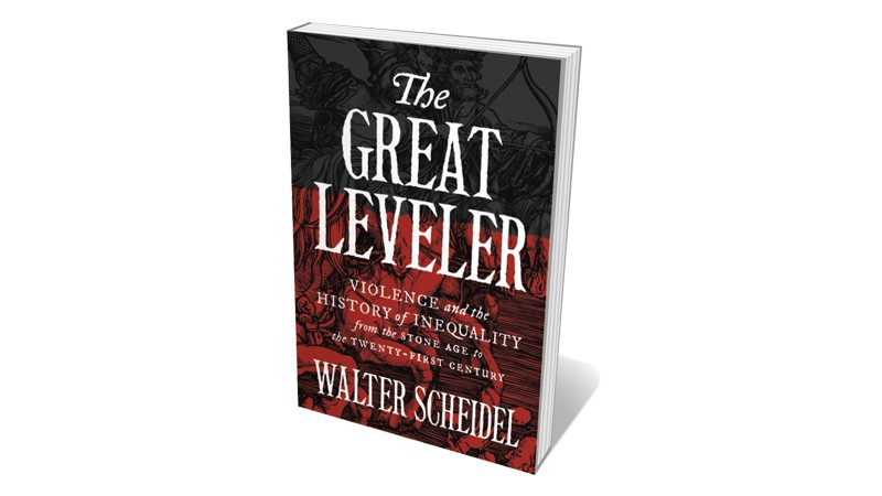 Books jacket 'The Great Leveler'