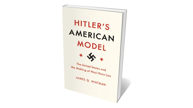 Books jacket 'Hitler's American Model'
