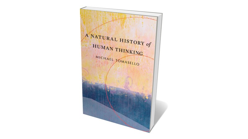 Books jacket 'A Natural History of Human Thinking'