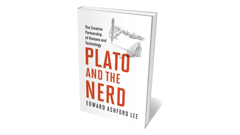 Books jacket 'Plato and the Nerd'