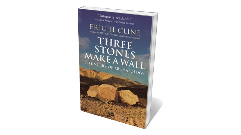 Books jacket 'Three stones make a wall'