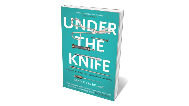 Books jacket 'Under the Knife'