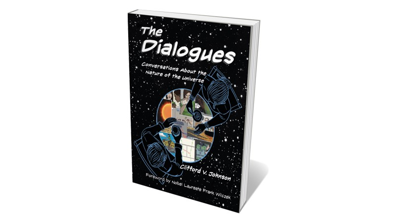 Books jacket 'The Dialogues'