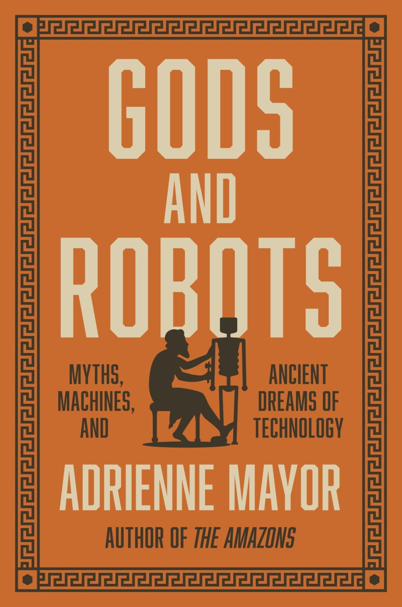 Book jacket 'Gods and Robots'
