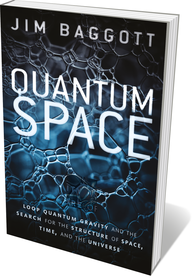 Book jacket 'Quantum Space'