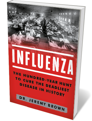 Book jacket 'Influenza'